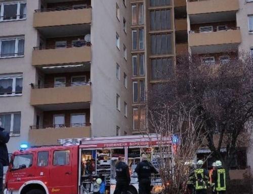 Feuerwehreinsatz in der Taunusstraße